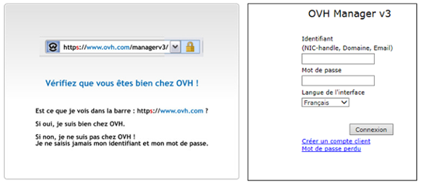 OVH Manager