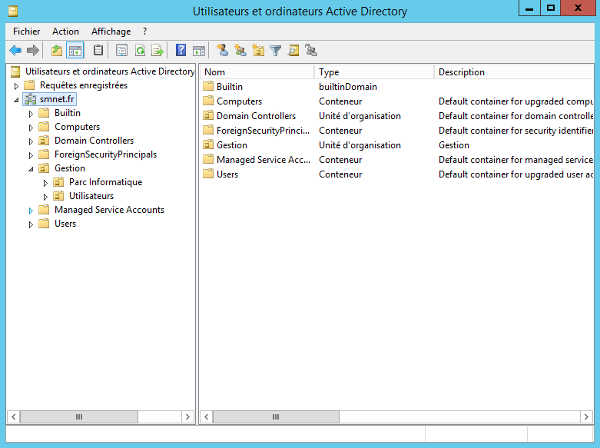 Windows 2012 Server R2 Active Directory