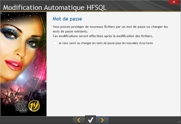 Modification automatique HFSQL 5