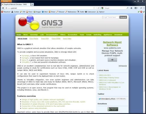 1.3.X TÉLÉCHARGER GNS3